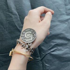 Rare! Vintage Chanel coin charm bracelet